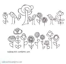 Embroidery Patterns Free Extraordinary Free Embroidery Patterns Hand Embroidery And Design Pinterest
