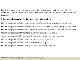 Resume Questions Classy Top 40 Bookstore Clerk Interview Questions And Answers