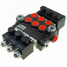 hydraulic kit valve solenoid control joystick john deere hydraulic bank motor 3 spool bank solenoid control valve 50 lpm john deere case