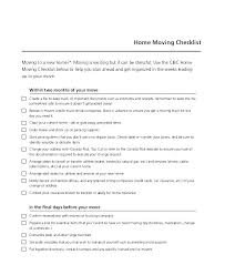 Checklist For Moving Office Business Template Free Templates Pages