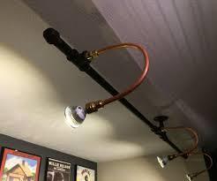 industrial pipe lighting. Industrial Style Display Lighting Pipe R