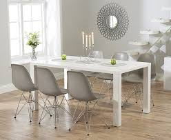 dining furniture atlanta. buy the atlanta 160cm white high gloss dining table with charles eames style dsr\u2026 | stühle pinterest eames, oak furniture superstore and eiffel