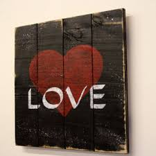 pallet wood sign distressed wood signage rustic chic decor shabby chic decor love sign black and on pallet wall art shabby chic with shop pallet wall art on wanelo