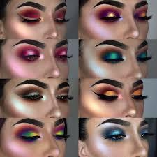 bright eyeshadow colorful eyeshadow mac eyeshadow looks red eyeshadow makeup loose glitter