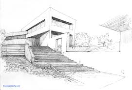 modern architecture drawing. House Drawing Unique Modern Architecture Youtube Clipgoo Design Sketch A