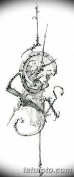 тату компас эскизы мужские 09032019 002 Tattoo Sketches