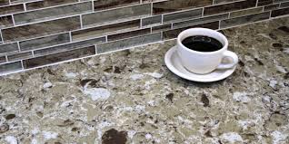 quartz countertops made from an engineered stone material are the best option when absolutely consistent stone color and texture are necessary for a