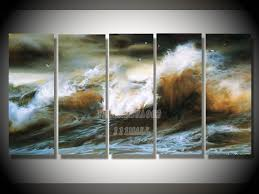nature wall art abstract oil canvas paintings oil paintings canvas abstract wall art oil painting natural scenery 5pcs