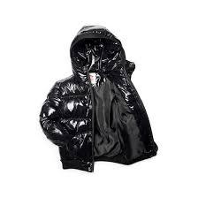 Appaman Shiny Black Puffy Coat
