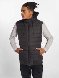 <b>Urban Classics Куртка</b> / Безрукавка Small Bubble <b>Hooded</b> черный ...