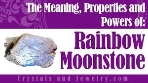 is rainbow moonstone lucky