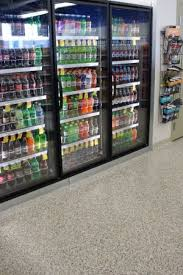 Grocery Store Vending Machine Cool Easy To Clean Seamless Floors Imagine A Gas Station Or Convenience