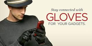 men s touchscreen leather gloves