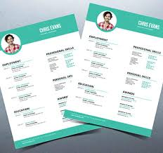Resume Psd Template Free Best of Modern Resume Design Creative Free Printable Resume Templates Free