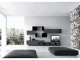 Small Picture Led Tv Wall Design In Bed Room And Hall Glass Cabinets For Living