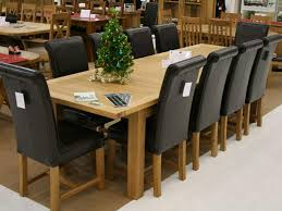 dining table 10 chairs room decor ideas and showcase design pertaining to seat 6