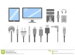 wiring diagram pc icon wiring library vector set of pc flat icons cable wire computer and electricity plug collection