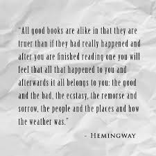 Hemingway Quotes Simple Quote Of The Week Ernest Hemingway Ingrid Sundberg