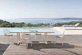 aluminium garden bench visual