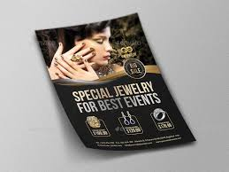 Jewelry Flyer Jewelry Flyer Templates Vol 2 Flyer Template Templates