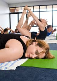 paige willaims doing bikram yoga