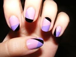 3 Color Combinations of Easy and Cute Nail Polish Designs