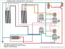 guitar wiring diagram humbucker single coil wirdig craig s giutar tech resource wiring diagrams