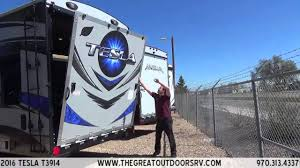 2016 tesla t3914 e122 the great outdoors rv