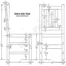 Dining Room Chair Plans Dining Chair Plans  Gallery Dining