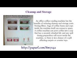 Pros And Cons Of Vending Machines Gorgeous Upload The Pros Cons Of Office Coffee Vending Machines 48 YouTube