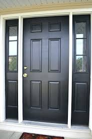 diy lessons learned painting my front door black painted front doors front doors and lessons learned