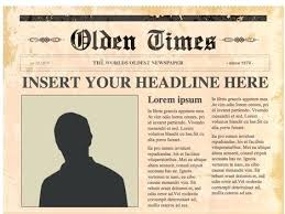 Fake Newspaper Template Word Fake News Report For Prank Story Template Word Images Of