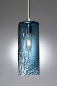 winter branch pendant by moshe bursuker art glass pendant lamp art glass pendant lighting