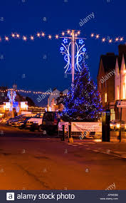 Christmas Lights For Street Lights Christmas Street Lights In Malrborough High Street