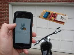 picture of electric imp garage door opener