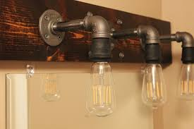 light fixtures bathroom diy