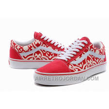 vans shoes red and white. vans old skool floral red white womens shoes super deals 7mzrdwy and h
