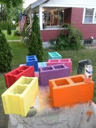 cinderblock furniture. Perfect Furniture Cinder Block Bench Outdoor Furniture Living Patio Repurposing  Upcycling Bring To Cinderblock Furniture R
