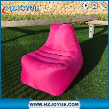 inflatable lounge furniture. New Design OEM Logo Fast Inflatable Lounger Sofa Sleeping Air Lounge Hangout Laybag.air Chair Furniture