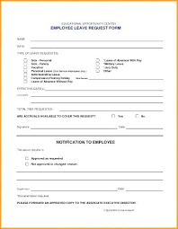 vacation forms for employees employee leave form template ddmoon co