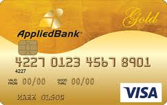 applied bank secured visa gold preferred credit card