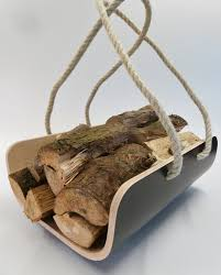 modern log holder  carrier available in various colours