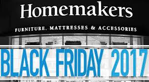 How to Prepare for Black Friday 2017 at Homemakers