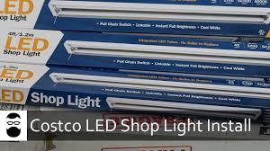 Costco Led Can Lights Costco Led Shop Light Install Basement In 2019 Led Shop