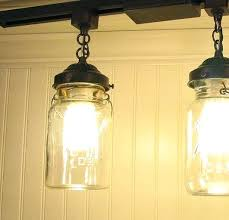 vintage track lighting. Mason Jar Track Lighting Vintage Canning  Light Single By On Vintage Track Lighting N