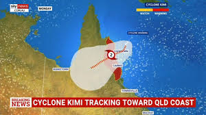 Cyclone Kimi forms off Queensland