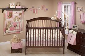 teddy bear crib sheet amazon com little bedding dreamland teddy girl crib bedding set