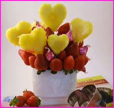 how to make chocolate covered fruit bouquet fresh homemade fruit bouquet