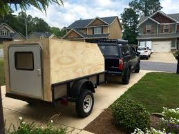 utility trailer teardrop off roadish camper build expedition portal camp trailerstravel trailersdiy