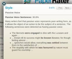 passive essay paper rater passive voice vs active voice tipactive  paper rater passive voice vs active voicepassive voice module of essay checker